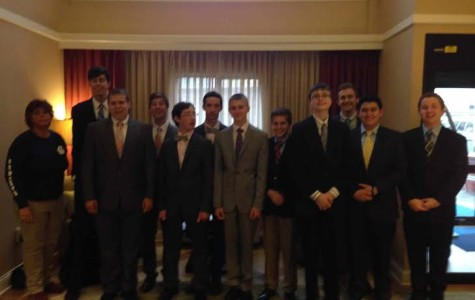 Debate team goes to Emory University [Dr. Pacilli]