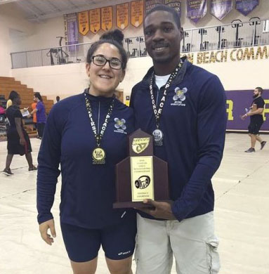 Girls Weightlifting: District Champs