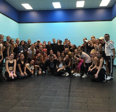 Step Up Revolution dancer holds a master class for Boca dancers