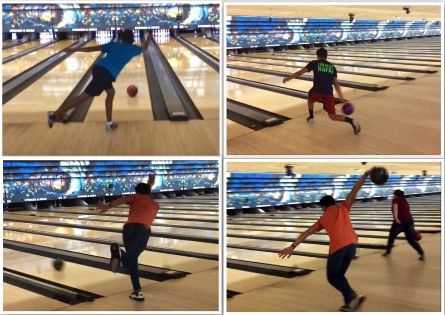 New outlook for the girl's & boy's bowling teams