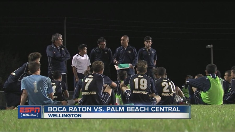 Boys' soccer update [Coach Castillo]