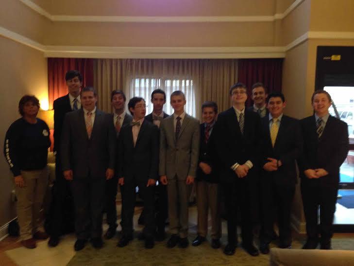Debate team goes to Emory University [Dr. Pacilli]