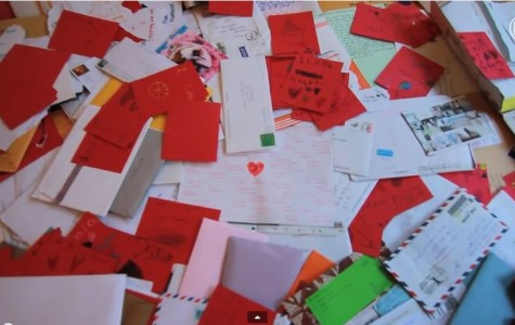 Hanagami received Letters of Love around the world.