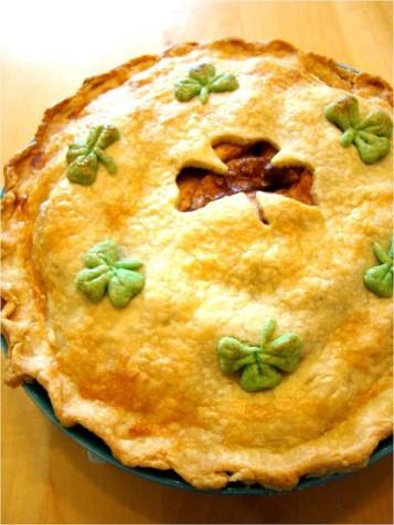 Saint Patty's Day Chicken Pot Pies