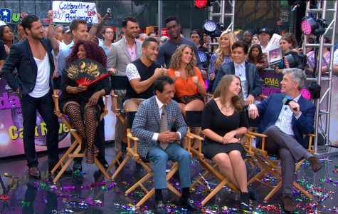 The cast of Dancing with the Stars Season 21 is announced in Good Morning America.