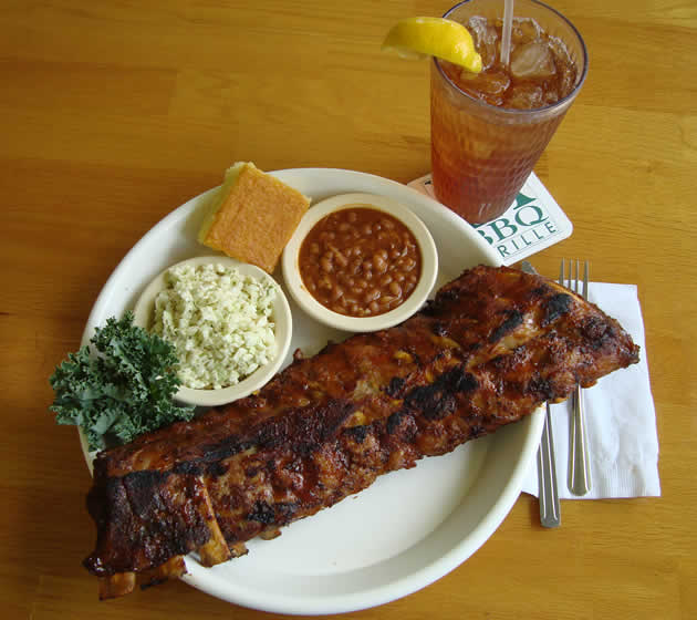One of the PA BBQ signature dishes.