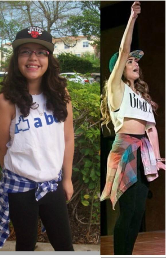 A+Chachi+Inspired+costume+is+easy+to+recreate.+