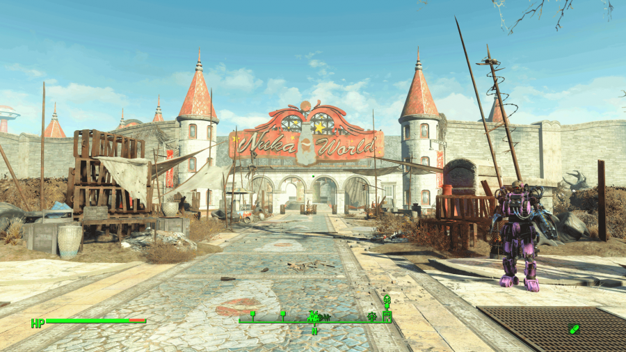 fallout 4 best companion for nuka world