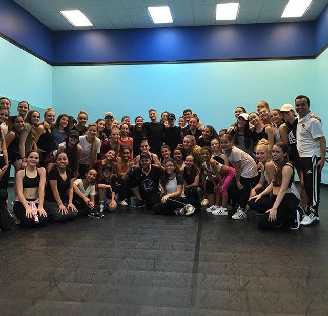 Step Up Revolution dancer holds a master class for Boca dancers