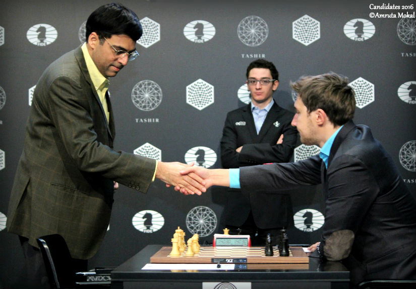 The+winner+of+the+tournament%2C+Sergey+Karjakin+of+Russia+%28Black%29+facing+the+former+world+champion+Viswanathan+Anand+of+India+%28White%29.