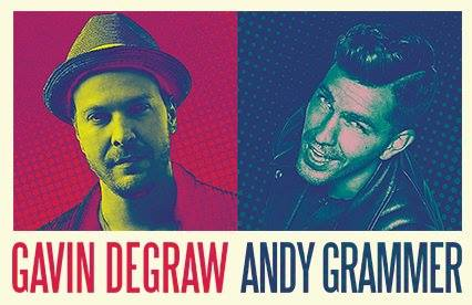 Andy Grammer takes the stage at Count de Hoernle amphitheater