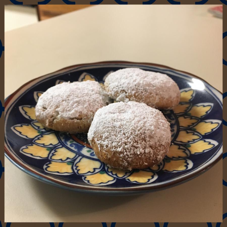 Russian tea cake cookies