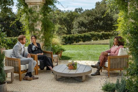 The location for the Meghan Markle, Prince Harry, and Oprah interview. The interview took place at a friend of Oprah Winfrey's house in Santa Barbara, California.